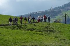 in cammino verso Nivagl, 8.5.2010